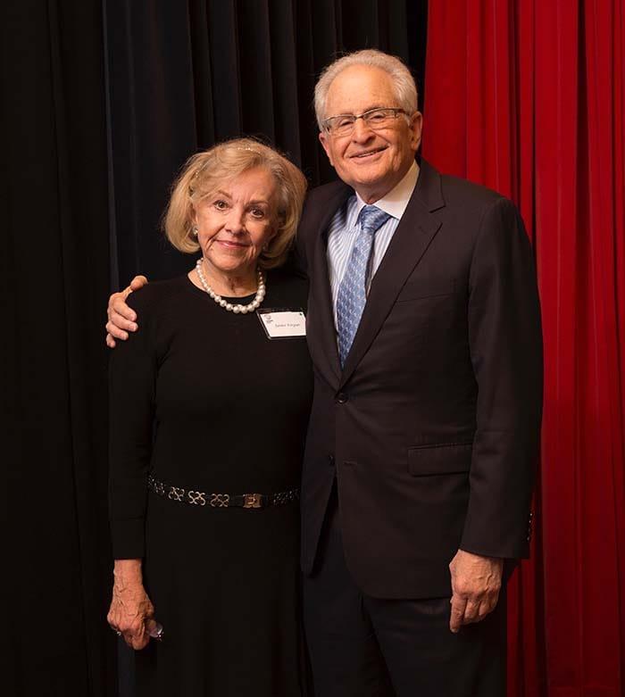 <p>Dr. and Mrs. Targan</p>