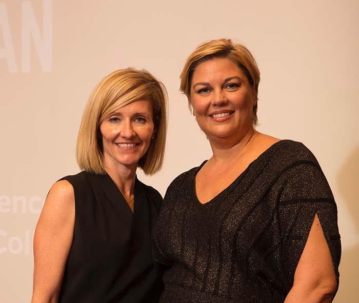 <p>Physician Assistant Heidi Drescher and Family Nurse Practitioner Elisabeth Evans</p>