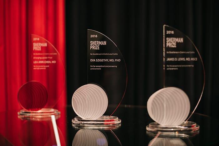<p>The 2016 Sherman Prize Awards</p>