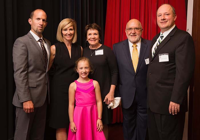<p>Physician Assistant Heidi Drescher and Family</p>