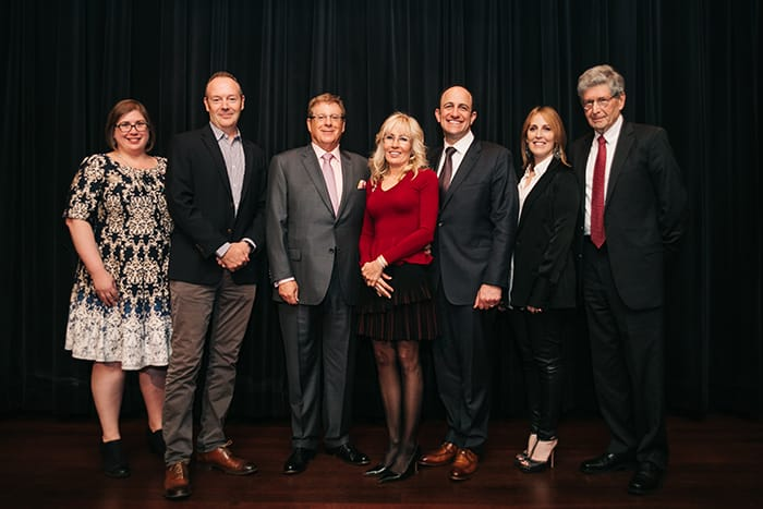 <p>Bruce and Cynthia Sherman with 2016 Selection Committee Members</p>