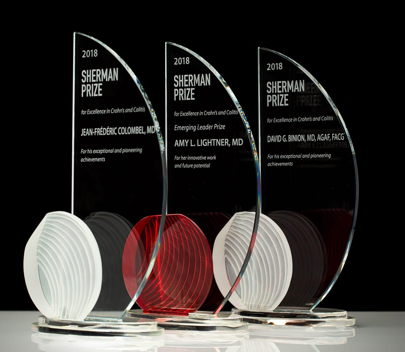 <p>2018 Sherman Prize Awards</p>