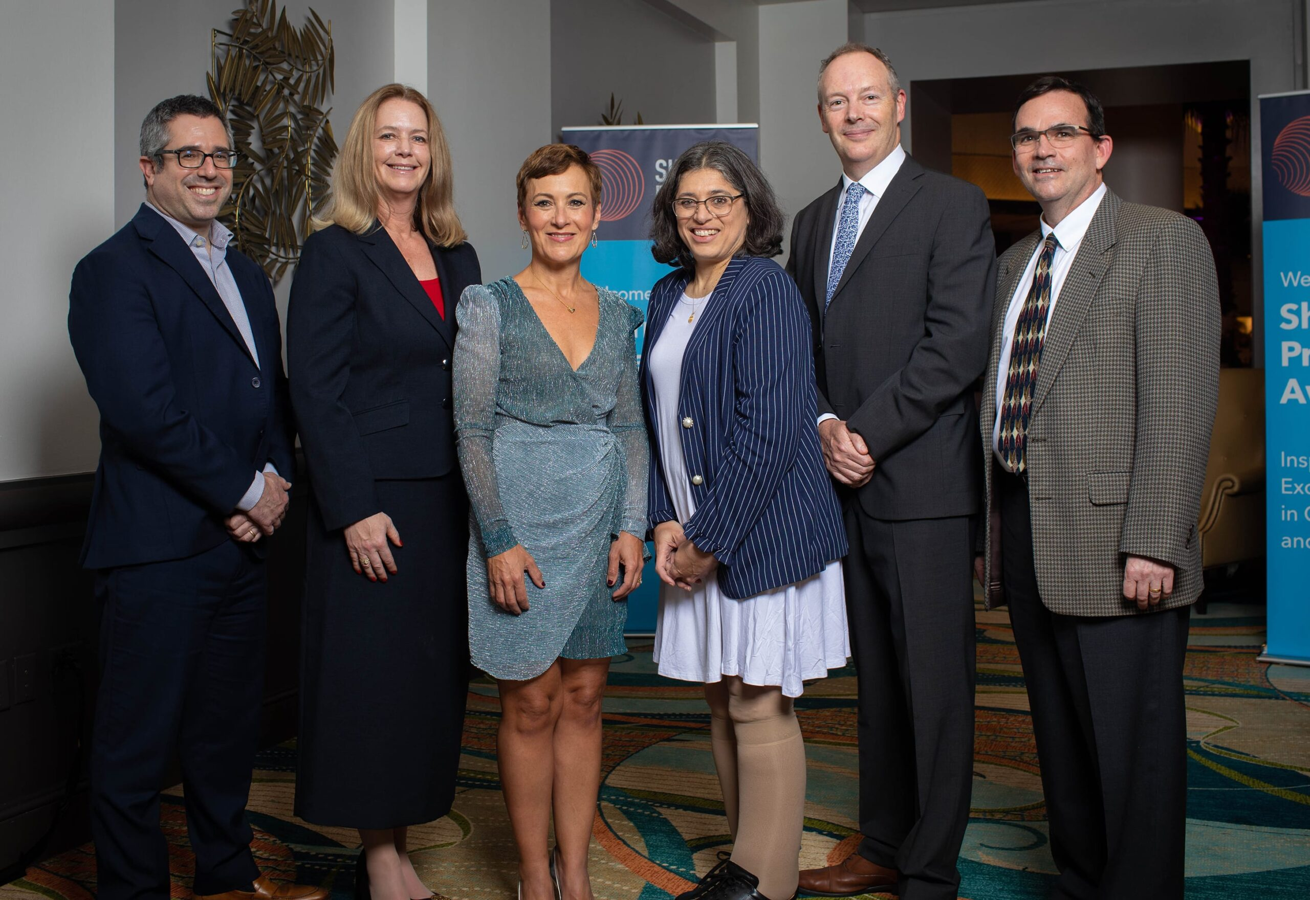 <p>2019 Selection Committee with 2019 Sherman Prize Recipient Dr. Maria Abreu</p>