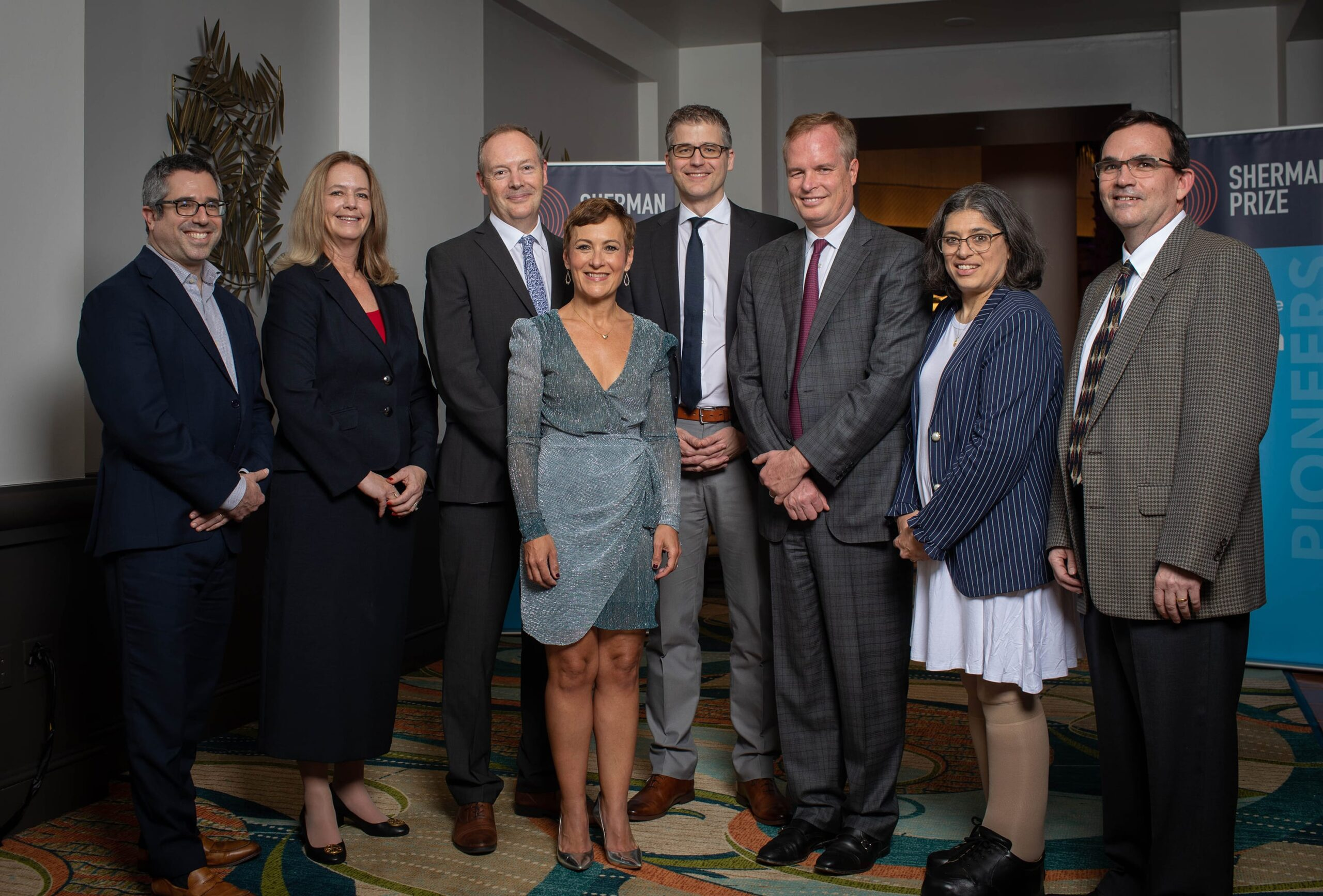 <p>2019 Sherman Prize Recipients and 2019 Selection Committee</p>