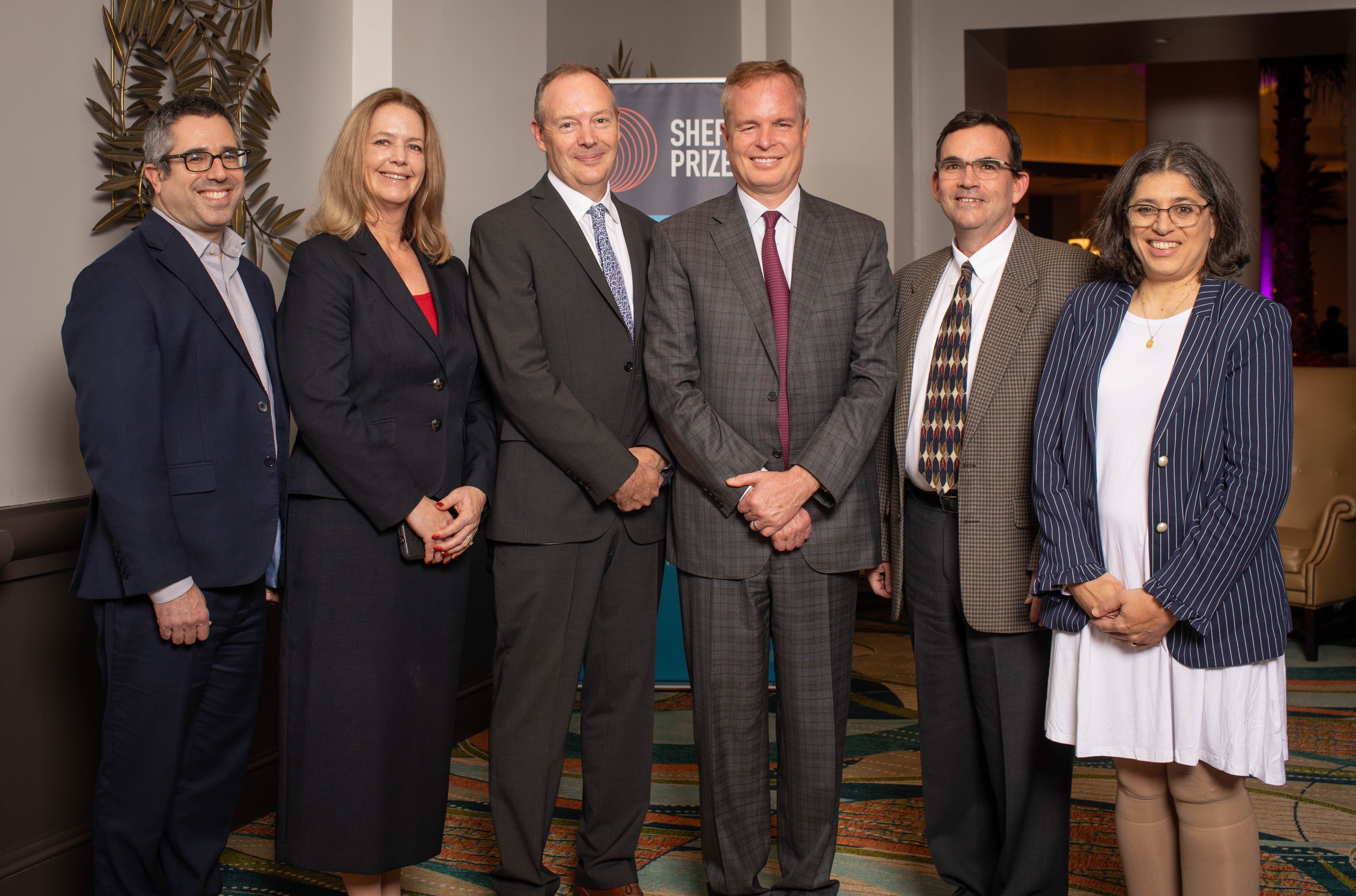 <p>2019 Selection Committee with 2019 Sherman Prize Recipient Dr. William Sandborn</p>